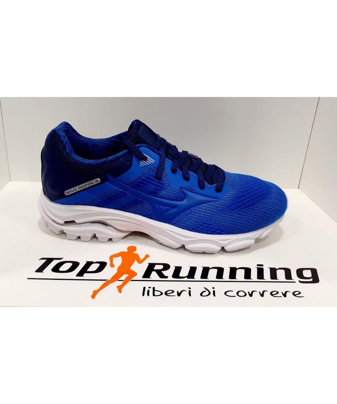 Scarpa da running donna blu Mizuno Wave Equate 2 sport corsa